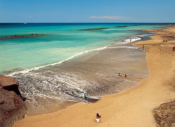 Stranden op tenerife